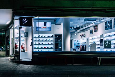 43einhalb francfort boutique