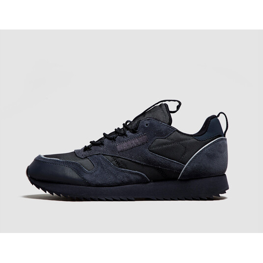 baskets Reebok Classic Leather Noires Homme
