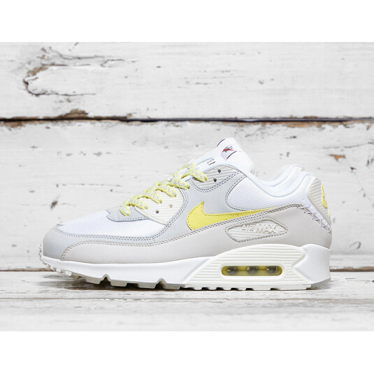 baskets Nike Air Max 90 Blanches Homme