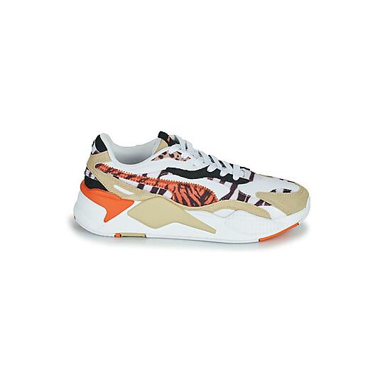 baskets Puma RS-X3 Blanches Femme 373953-01