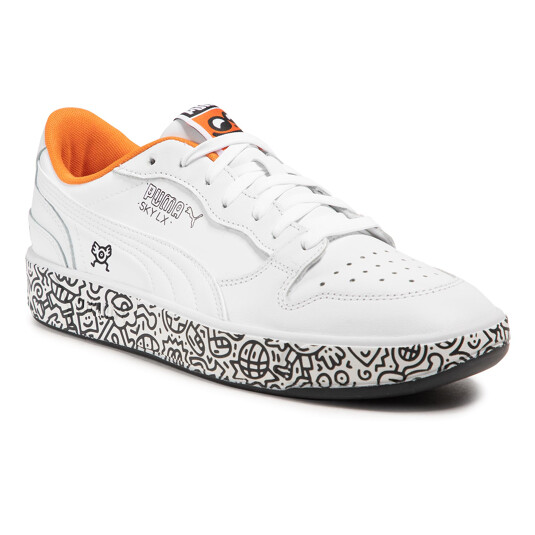 baskets Puma Sky LX Blanches Homme