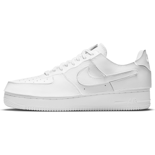 baskets Nike Air Force 1 Blanches Homme