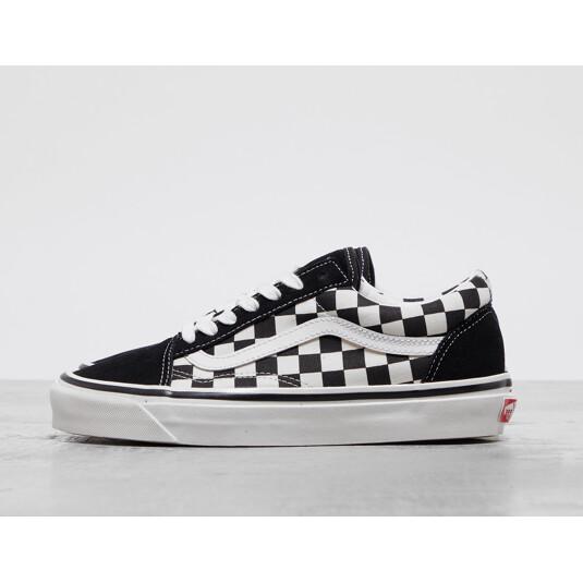 Vans Checkerboard Black Woman