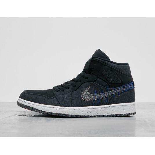 baskets Nike Air Jordan 1 Noires Homme