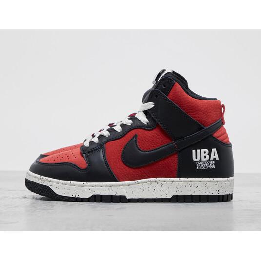 baskets Nike Dunk Rouges Femme