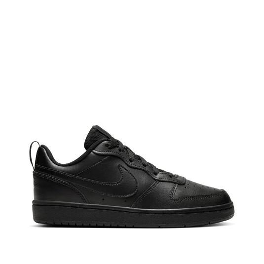 baskets Nike Court Borough Noires Enfant